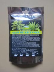 """Сухі добрива """"Для неквітучих рослин"""" 50 гр."""