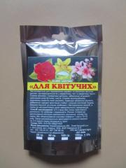 """Сухі добрива """"Для квітучих рослин"""" 100 гр."""