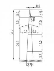Опоры 1П330-1-5,8
