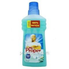 Floor care Mr.Proper 500ml liquid Mineral salt and cool 1/20