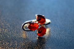 Amber ring female Marichka Mar_chka