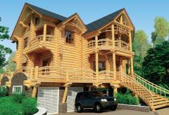 Дома срубы деревянные - строительство под ключ