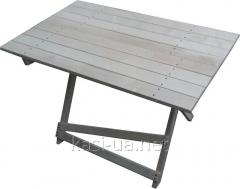 Folding table for picnic