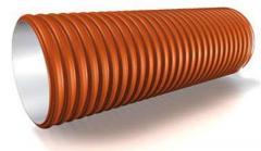 Труба дренажная двухслойная SN8 160*6000
