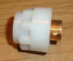 Cap of the fuse with metal insert dm 11.6 mm