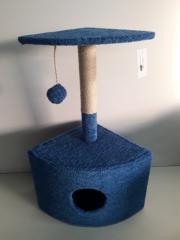 Домик угловой для кота