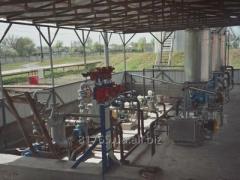 Установка приготовления брендовых топлив УСЖ.БТ