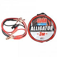 Провода прикуривания 300А, ALLIGATOR, 3м, сумка