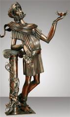 Compositions decorative sculpture Dionysus