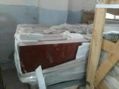 Плита мраморная ,  торцованная ,  полированна
