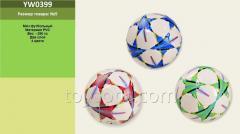 Мяч футбол YW0399,  30шт,  PVC 280 грамм 2...