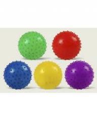 Мяч MB0103, 400шт, с шипами, резиновый 12см 25гр