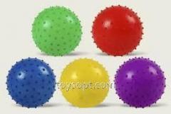 Мяч MB0106, 250шт, с шипами, резиновый 20см 45гр
