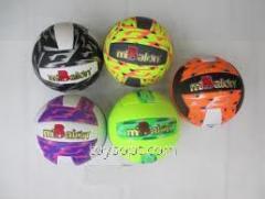 Мяч волейбол F17495, 60шт, 5 цветов
