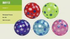 Мяч резиновый B0113,  250шт,  ассорти,  9 60g