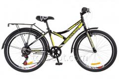 "Bicycle 24 ""Discovery FLINT 14G Vbr frame-14"" St black and yellow with tailgate St, with wing St 2018 (pcs)"