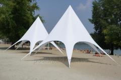 Star tent 8,60 m. For cultural entertainment Veranzo