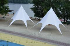 Star tent 10.40 m. Veranzo for exhibitions