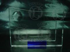 Рамка для фотографии из стекла