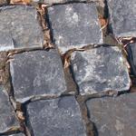 Брусчатка каменная габбро для мощения дорог и тротуаров, плитка габбро, гранит