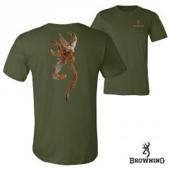 Футболка для охоты и рыбалки Browning Pheasant Buckmark T-Shirt