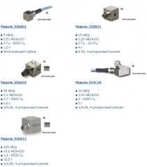 Three-component accelerometers ICP