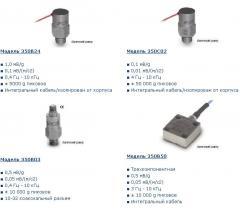 Shock accelerometers ICP