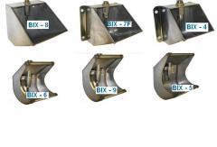 Чашечные поилки для свиней: BIX - 8, 7F, BIX - 4,