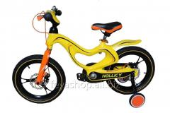 "Велосипед Hollicy 16"" (жовтий)"