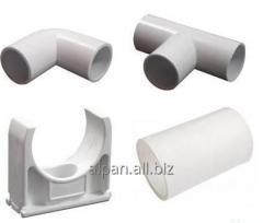 Аксессуары для гладкой трубы - Тройник соединительный для трубы d16