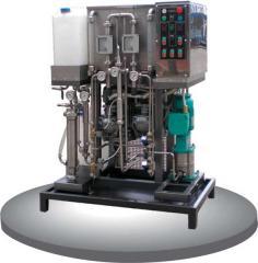 The biodiesel installation
