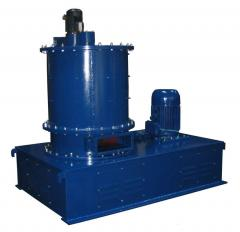 Mill for thin crushing of VHM-800 rubber