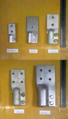 Contact clips to power transformers