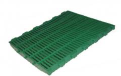 Plastic lattice of 60x50 cm for pigs, pigs