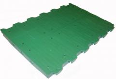 Floor lattice for pig farms plastic 60x40 cm