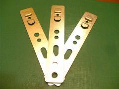 Анкерная пластина -оконная из оцинкованной стали