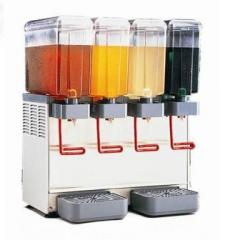 Coolers of juice of drinks, granitor