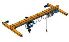 Crane one-frame pavemen