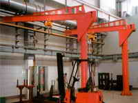 Cranes are console electric stationary