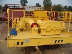 Carts to load-lifting cranes of / p 5-30 t.
