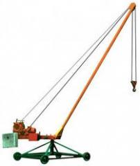 Cranes construction Pioneer.