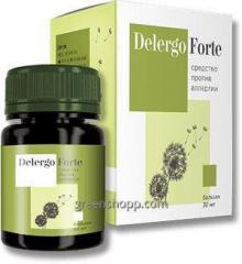 Средство от аллергии Delergo Forte Делерго Форте