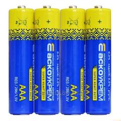 Батарейка солевая AАА.R03.S4 (блистер 4)