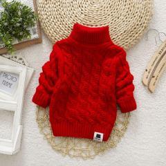 Вязаный шерстяной свитер для мальчиков, девочек. От (3м до 4 лет)