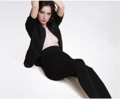 Модные, однотонные, теплые, эластичные, бархатные женские зимние леггинсы.