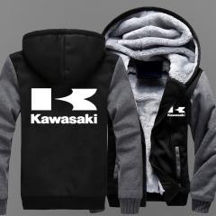 Кашемировая мотоциклетная куртка мужская-(Kaw