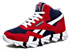 Зимние кроссовки для мужчин снескользящейся подошвой.