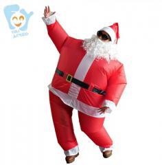 """Карнавальный надувной костюм для вечеринок -\""""Дед Мороз \"""""""
