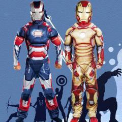Костюм для детей-(Капитан Америка и Железный...