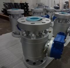 Ball valve trehsostanoj flanged steel Lb150...